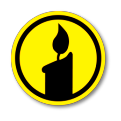 Candlight Plaza Candle Logo